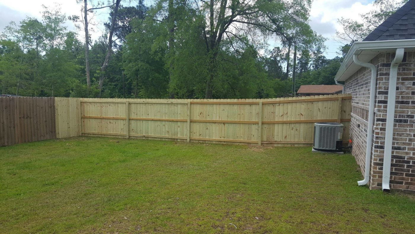 Residential Fencing In Ocean Springs